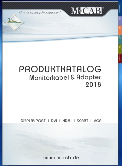 Monitorkabel und Adapter