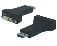 DisplayPort - DVI 24+1 Adpater, St/Bu