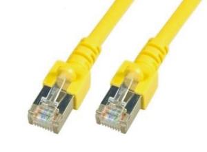 CAT5e-SF/UTP-PVC-10.0M-YEL