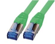 CAT6A Netzwerkkabel S-FTP, superflex, LSZH, grün, 2.00m