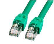 RJ45 Patchkabel S/FTP, CAT.8.1, LSZH, 3,0m, grün