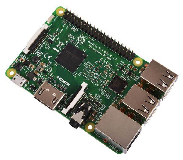 RASPBERRY Pi 3B, 1.2GHz, 1GB, WiFi