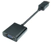 Displayport 1.2 to VGA 15p AV Adapter, 1080p Full HD, male/female, 0.20m, black