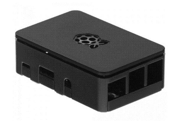 Raspberry PI Gehäuse f. B+, 2 u. 3, schwarz