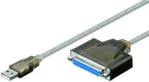 USB zu parallel Kabel - D-SUB 25P