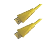 HDMI Hi-Speed Kabel w/E, 4K@30Hz, Stecker/Stecker, 2.0m, gelb