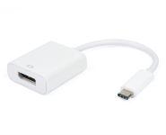 USB-C zu Displayport 1.2 Adapter, 4K@60Hz, Stecker/Buchse, weiß, 15cm