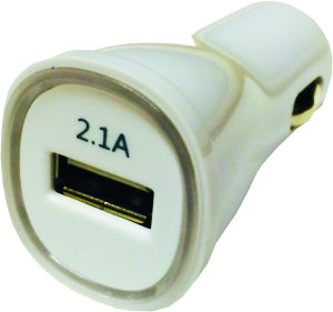 USB Kfz-Ladeadapter, 12/24V - 2.1A - 1 Port