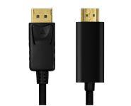 DisplayPort 1.2 - HDMI Anschlusskabel, St/St, 1m, gold