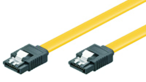 HDD SERIAL connection cable, 7p L-type, 1.5GBs, 3Gbs, 6Gbs, w/Lock, 0,70m