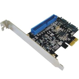 Schnittstellenkarte PCIe SATA III - 6G / PATA Raid, 3 Channels