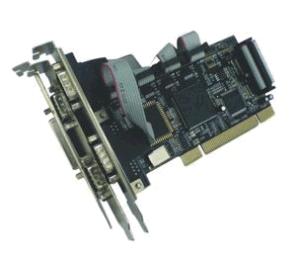 Schnittstellenkarte PCI - 4x seriell / 1x parallel Ports