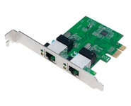 Schnittstellenkarte PCIe GigaBit, 2x RJ45