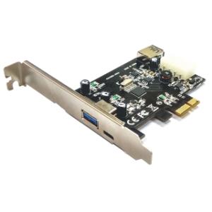 Schnittstellenkarte PCIe USB 3.0-2A/1 USB-C