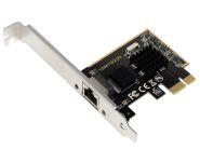 Schnittstellenkarte PCIe 2,5 Gigabit, 1x RJ45