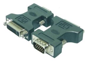 DVI Adapter - DVI-I Bu -> VGA HD Dsub 15p St