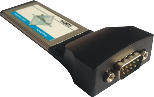 Schnittstellenkarte - Express Card - Seriell - 1 Port