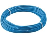 Kupferlitze isoliert, 10m, 1.1mm, 1-adrig, blau