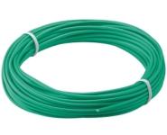 Kupferlitze isoliert, 10m, 1.1mm, 1-adrig, grün