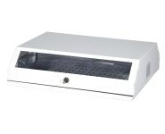 Wallmountcabinet 19 Zoll -3HE v - 5HE h - weiß
