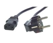 1.0M Power Cord CEE7/7-C13-BK