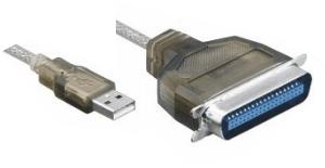 USB 2.0 zu Centronics Druckerkabel, EPP, ECP, 12Mbps Full-Speed, St/St, 1.50m