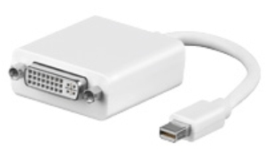 DisplayPort mini - DVI (24+5) Adapter, St/Bu