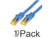 0.25M CAT7 S-FTP LSZH BLU 10PAC - Netzwerkkabel - raw cable