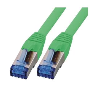 CAT6A Netzwerkkabel S-FTP, superflex, LSZH, grün, 3.00m