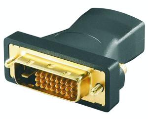 HDMI zu DVI Dual Link Adapter, HDMI Buchse zu DVI-D 24+1 Stecker