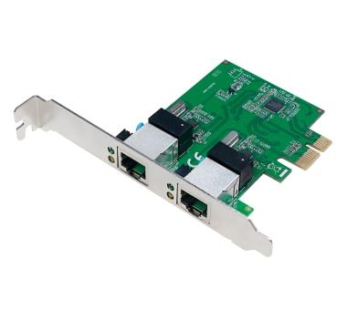 PCIe GigaBit LAN - 2 Port