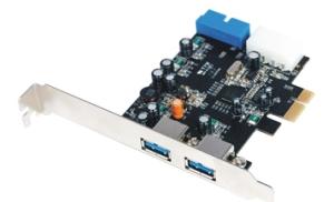 Schnittstellenkarte PCIe USB 3.0 - 2+2 Port