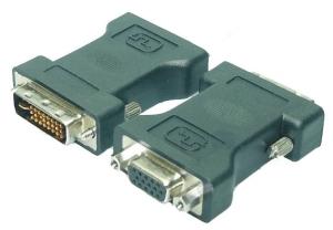 DVI Adapter - DVI-I St. -> VGA HD Dsub 15p Bu
