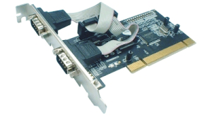 Schnittstellenkarte PCI - Seriell - 2 Port