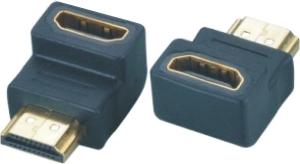 HDMI Adapter - 19p A St / 19p A Bu - G - 90 Grad