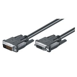 DVI-D Verlängerungskabel - St/Bu - 3.0m - 24+1, Dual Link