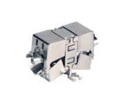 CAT6A Kabelverbinder CLASS EA 10Gbit/s, LSA, geschirmt