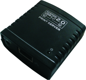 USB 2.0 Server, 1 Port, bis 100m, 1xRJ-45, 1x USB2.0 A Buchse