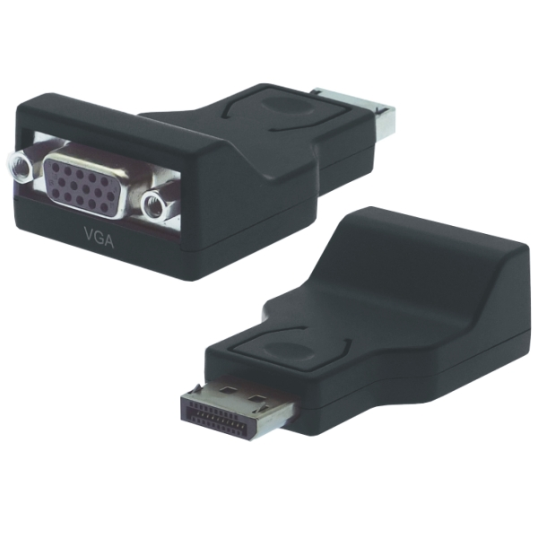 DisplayPort - VGA Adapter, St/Bu