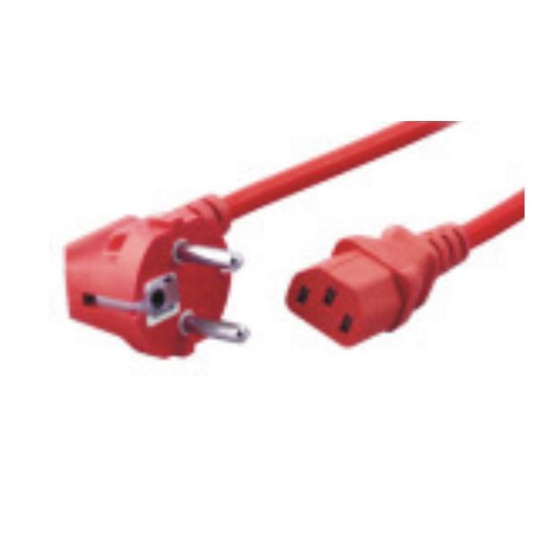 1.8M Power Cord CEE7/7-C13-RD